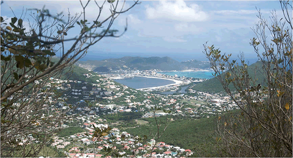 The population of St Martin is about 80,000 people split between the two sides of the island.