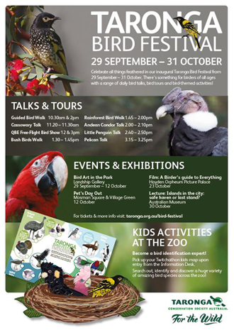 Taronga Bird Festival - September 2014