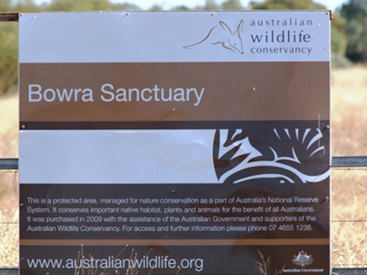 Australian Wildlife Conservancy - Bowra Sanctuary Queensland